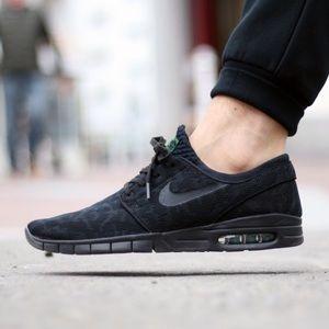 Nike Stefan Janoski Max Black Pine Green Sz 10